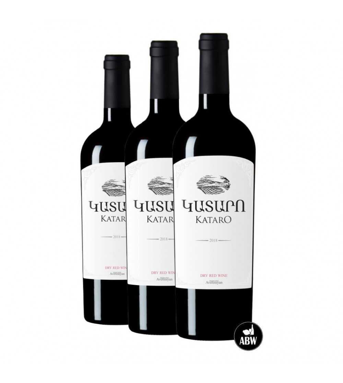Kataro Red Wine of Artsakh 3 bottles