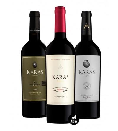 Coffret Découvertes Vins Karas 3 bouteilles