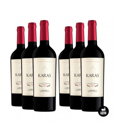 Bottle of Red Dry Wine Classic from Karas
