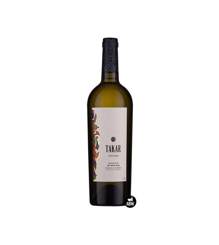 Droge Witte Takar-wijn van Armenia Wine